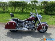Indian Springfield 2020 only 604 miles Sissy bar/rack, V&H pipes ++ NR
