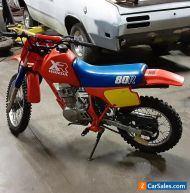 1986 Honda XR