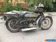 1922 ROYAL ENFIELD V-TWIN VINTAGE MOTORCYCLE SIDECAR OUTFIT