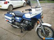Moto Guzzi police bike