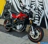 2012 HUSQVARNA NUDA R 900CC MOTORCYCLE LOW KMS UNREGISTERED SOLD WITH BLUE SLIP