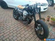 Harley Davidson Sportster bobber old skool flat tracker 1200cc SPRINGER front