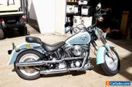Harley Davidson FATBOY 1993 CLASSIC IN CUSTOM HARLEY FACTORY COLOURS