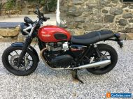 Triumph Street Twin 2020, 69 plate,  3500 miles excellent condition