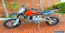 Fully Assembled125cc Dirt Bike