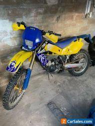 Husqvarna cr 125 2004 ROAD LEGAL MOTOCROSS BIKE