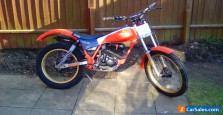 Honda TLR 200 trials bike