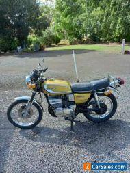 1976 Suzuki GT380 3 cylinder two stroke motorcycle