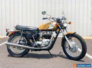 1972 Triumph Bonneville T120 Bonneville T120 T120V 5-Speed Frame-Off Restoration