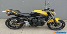 2009 Yamaha FZ6N 600cc road bike