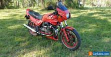 1985 Moto Guzzi Mk IV Le Mans 1000 Red