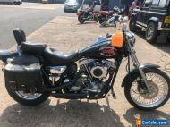 Ref 804. 1982 Harley Davidson 1340cc FXR Shovelhead Super Glide