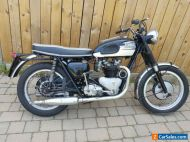 """1961 Triumph 650 pre-unit 6T Thunderbird with a Twin Carb """"Delta"""" cylinder head"""