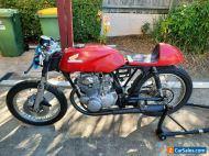 1972 Honda cb350 twin track bike project