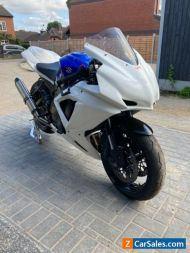 2010 L0 Suzuki GSXR 750 track bike