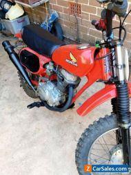 Honda xr75 red devil 1977
