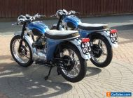 Triumph Tiger 100 SS 1962 Identical Twins unbelievable so very Rare