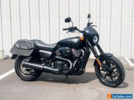 2016 Harley-Davidson Street 750 XG750 XG w/ Only 1,821 Miles! + Saddlebags!