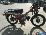 HONDA CT110 CT 110 POSTIE 07/2006MDL 31437KMS CLEAR PROJECT MAKE AN OFFER