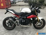 TRIUMPH SPEED TRIPLE 1050 1050R 01/2014MDL 53871KMS  PROJECT MAKE AN OFFER