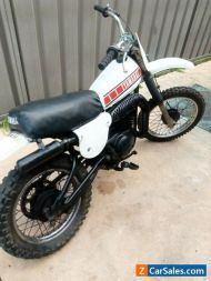 Yamaha YZ80 e