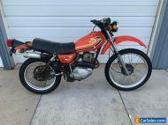 1978 Honda XL250