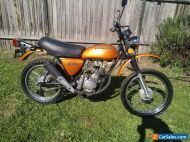 honda XL100 1974