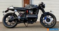 BMW K100 Cafe Racer not scrambler street tracker Stunning Bike!