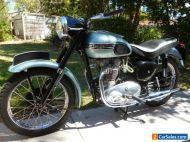 TRIUMPH 1956 500cc T100 . TOTALLY RESTORED      NO RESERVE!