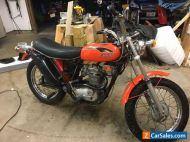 1971 Triumph T25SS