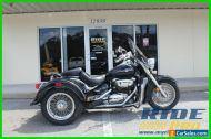 2007 Suzuki Boulevard C50 Black Lehman Tramp Trike Kit 3 wheeler