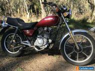 1984 Kawasaki Z250 LTD Motorbike