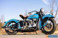 1938 Harley-Davidson EL Knucklehead EL Vintage Antique Restored Museum-Grade